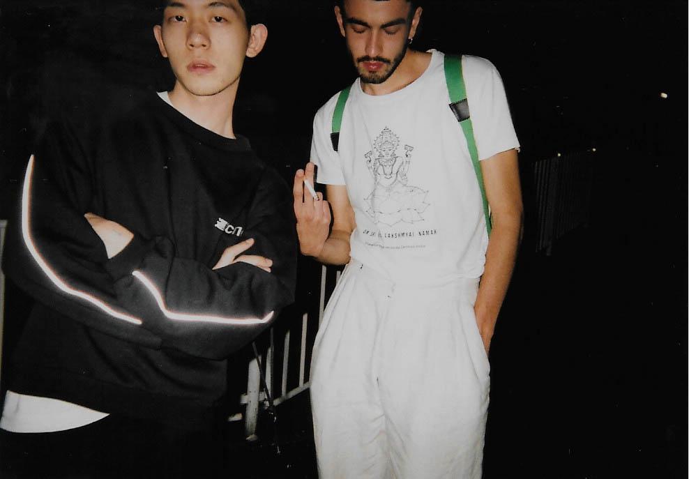 Johannes and Kosuke 2015-09 Tokyo, Shibuya Fujicolor 1600 Hi-speed