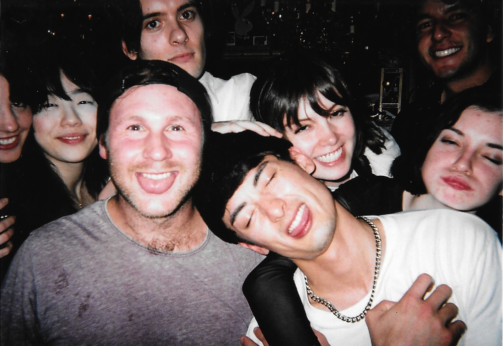 Smiles Aleks, Haruka, Timmy & Ruby 2015-09 Tokyo Shibuya Tump Room - White Rabbit Party Fujicolor 1600 Hi-speed