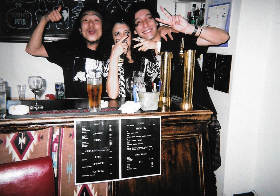 Yuta, Rita & Maito 2015-09 Tokyo Shibuya, Hang Out Fujicolor 1600 Hi-speed