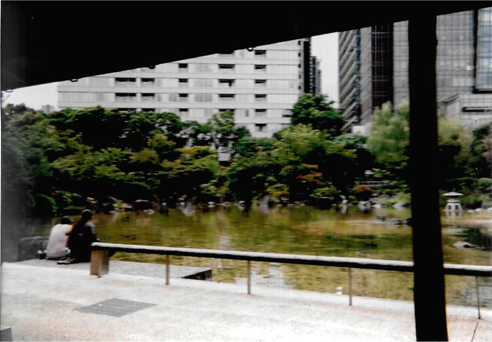 The couple 2015-10 Tokyo, Midtown Roppongi Fujicolor 1600 Hi-speed